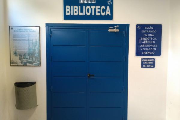 Biblioteca de la Facultad de Ciencias de la Universidad de Granada
