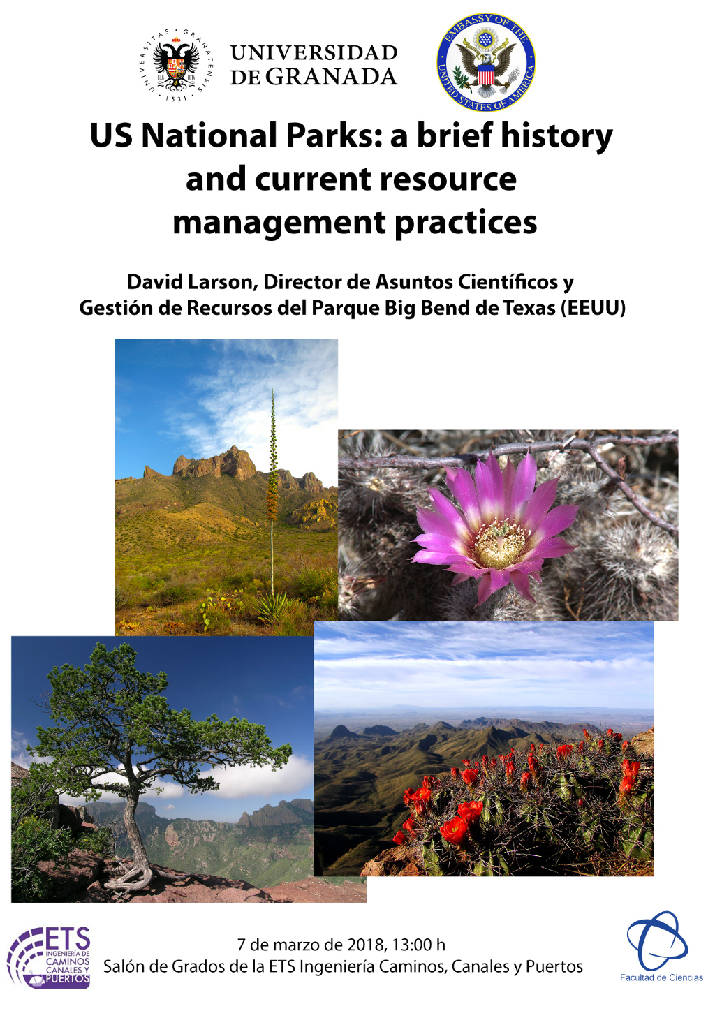 Conferencia US National Parks: a brief history and current resource management practices