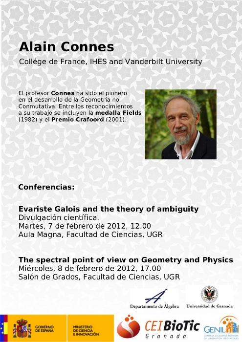 Conferencias de Alain Connes