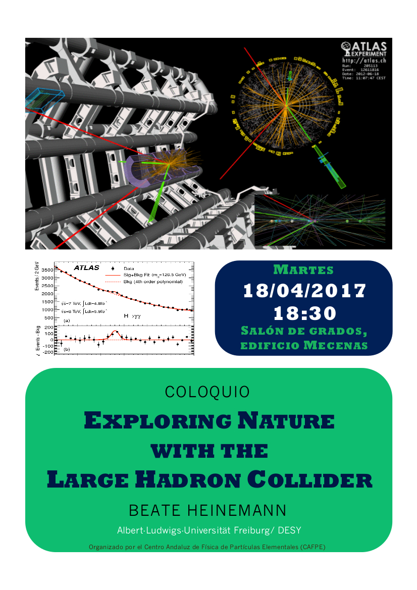 Coloquio Exploring Nature with the Large Hadron Collider