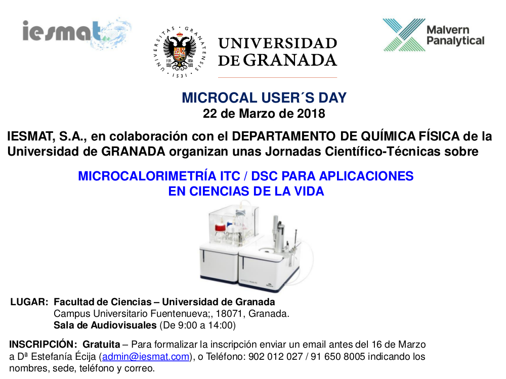 Microcal User's Day