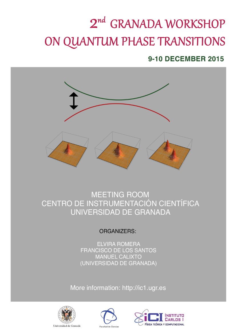2nd Granada workshop on quantum phase transitions